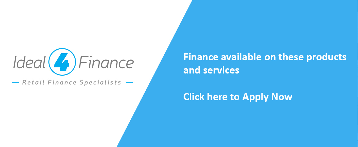 Finance available on these products and services. Click here to apply now